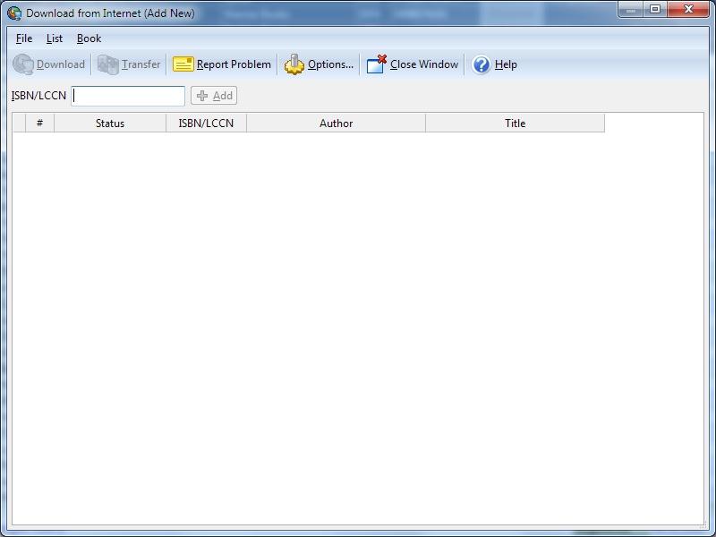 isbn book list  software